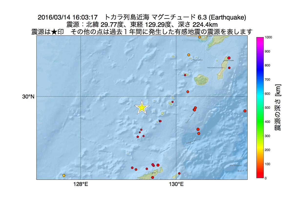 地震 トカラ 列島